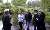 2012 Rocky Mountaineer Brunette River Fish Release with Elmer Rudolph-22